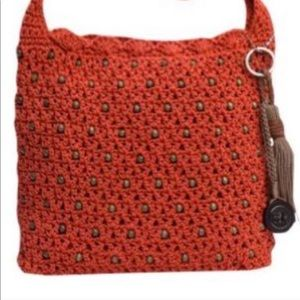 The SAK Classic Beaded Crochet Crossbody